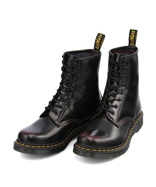 ドクターマーチン ショートブーツ メンズ コア 1460 8ホール ブーツ クッション性 カジュアル デイリー ストリート CORE 1460 8EYE BOOT Dr.Martens 13661601 チェリーレッドアルカディア