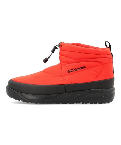 コロンビア Columbia スピンリールミニブーツウォータープルーフ SPINREEL MINI BOOT 2 WP OMNI-HEAT オータムオレンジ メンズ ウィンターブーツ 軽量 クッション性 防水 雨 雪 靴 カジュアル ウォーキング YU0354