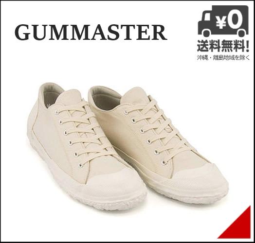 ローカット スニーカー メンズ キャンバス クッション性 撥水 雨 雪 靴 カジュアル デイリー ストリート ガムマスター GUMMASTER 5863GFS ナチュラル