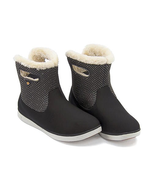 ボグス ウィンターブーツ レディース ショートブーツ 内ボア あったか 保温 クッション性 防水 雨 雪 靴 美脚 カジュアル デイリー トラベル アウトドア SHORT BOOTS BOGS 78410A ブラックマルチ