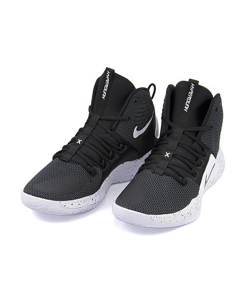 ナイキ バスケットボールシューズ ハイカット スニーカー メンズ ハイパーダンク 10 軽量 クッション性 耐久性 カジュアル デイリー ストリート スポーツ HYPERDUNK 10 NIKE AO7893 ブラック/ブラック/ホワイト