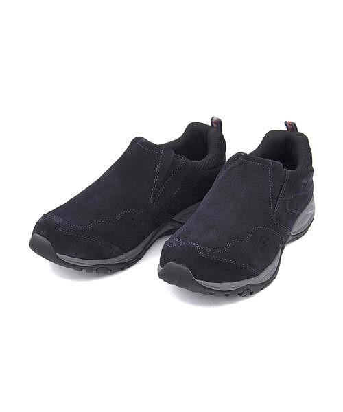 コロンビア スリッポン スニーカー メンズ セイバーモックWP クッション性 防水 雨 雪 靴 カジュアル デイリー トラベル アウトドア SABER MOC WP Columbia YU3862 アビス