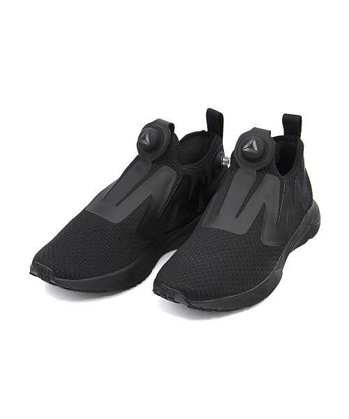 リーボック スリッポン スニーカー メンズ ポンプシュプリーム 通気性 クッション性 EE カジュアル デイリー スポーツ ウォーキング PUMPSUPREME Reebok CN2941 ブラック/コール/アッシュグレー