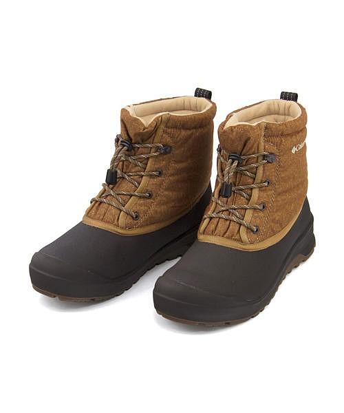 コロンビア スノーブーツ メンズ チャケイピチャッカオムニヒート あったか 保温 クッション性 防水 雨 雪 靴 カジュアル デイリー トラベル アウトドア CHAKEIPI CHUKKA OMNI-HEAT Columbia YU3974 エルク