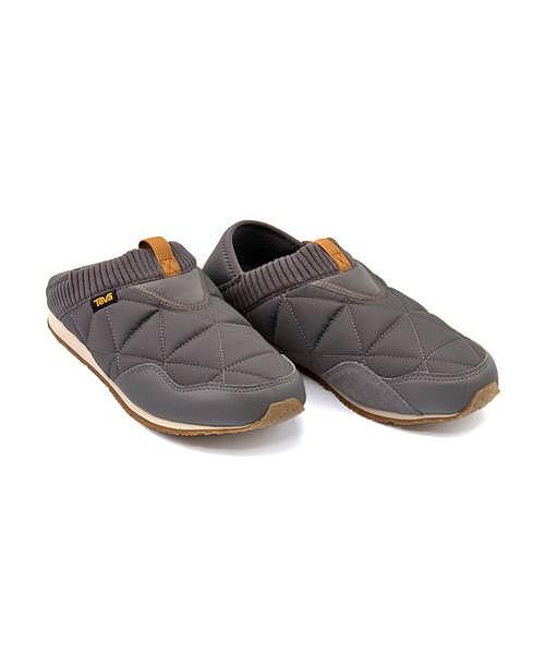 テバ モックシューズ スニーカー メンズ エンバーモック 2WAY クッション性 撥水 雨 雪 靴 カジュアル デイリー スポーツ ウォーキング M EMBER MOC Teva 1018226 チャコールグレー