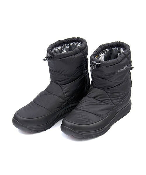 コロンビア スノーブーツ メンズ スピンリールブーツ 保温 クッション性 防水 雨 雪 靴 カジュアル デイリー スポーツ ウォーキング アウトドア SPINREEL BOOT ADVANCE WP OMNI-HEAT Columbia YU0274 ブラック