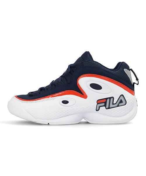フィラ FILA グラントヒル3 GRANT HILL 3 フィラネイビー/ホワイト/フィラレッド メンズ バスケットボールシューズ スニーカー クッション性 カジュアル デイリー スポーツ ウォーキング F0478
