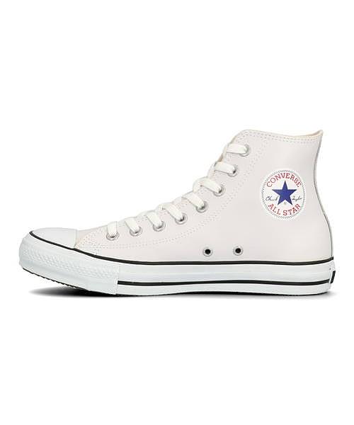 コンバース converse レザーオールスターHI LEA ALL STAR HI ホワイト メンズ ハイカット スニーカー クッション性 カジュアル デイリー スポーツ ウォーキング 1B907