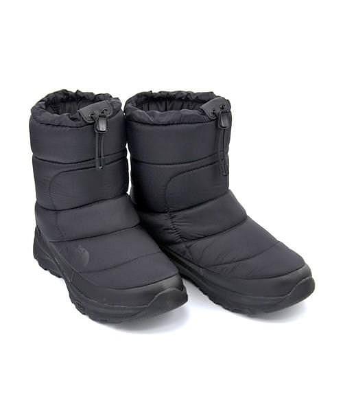 ノースフェイス ウィンターブーツ メンズ ヌプシブーティー6 あったか 保温 クッション性 防水 雨 雪 靴 カジュアル デイリー スポーツ ウォーキング NUPTSE BOOTIE WP 6 THE NORTH FACE NF51873 TNFブラック