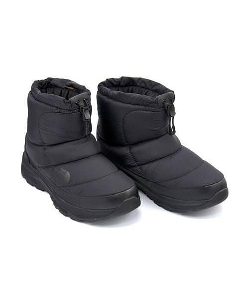ノースフェイス ウィンターブーツ メンズ ヌプシブーティー6ショート あったか 保温 クッション性 防水 雨 雪 靴 カジュアル デイリー スポーツ ウォーキング NUPTSE BOOTIE WP 6 SHORT THE NORTH FACE NF51874 TNFブラック