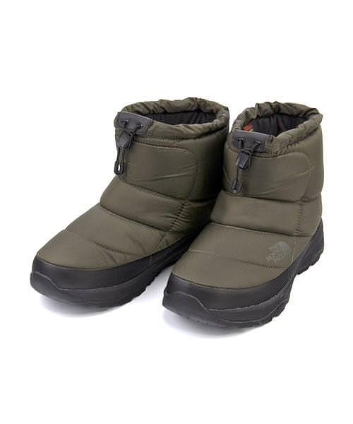 ノースフェイス ウィンターブーツ メンズ ヌプシブーティー6ショート あったか 保温 クッション性 防水 雨 雪 靴 カジュアル デイリー スポーツ ウォーキング NUPTSE BOOTIE WP 6 SHORT THE NORTH FACE NF51874 ニュートープ