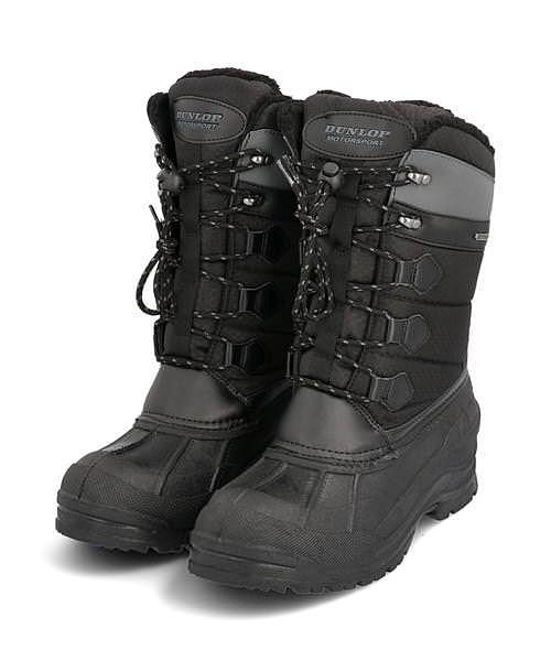 ダンロップ ウィンターブーツ メンズ ドルマンG330 クッション性 防水 雨 雪 靴 カジュアル デイリー スポーツ ウォーキング DOLMAN G330 DUNLOP BG330 ブラック