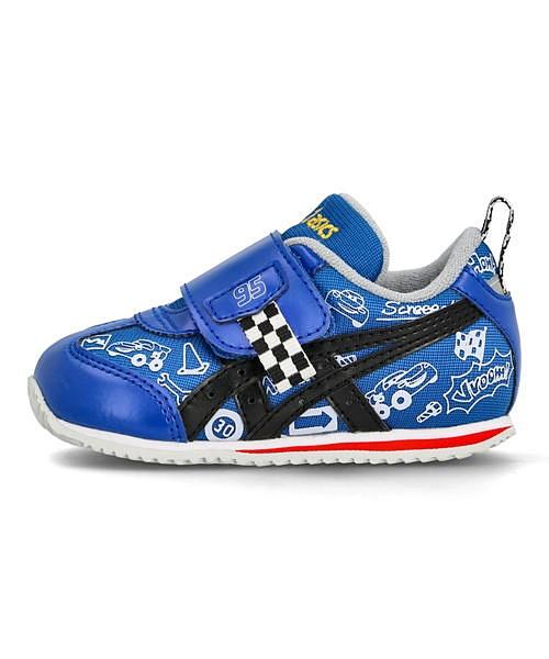 アシックス 迅速な対応で商品をお届け致します SUKU2 スクスク ディズニー カーズ スニーカー 女の子 開店祝い アイダホベビーカーズ IDAHO BABY CARS asics 超得クーポン割引 クッショ 全品ポイント激増 通気性 通学靴 ベビーシューズ ブルー 1144A186 運動靴 キッズ 子供靴