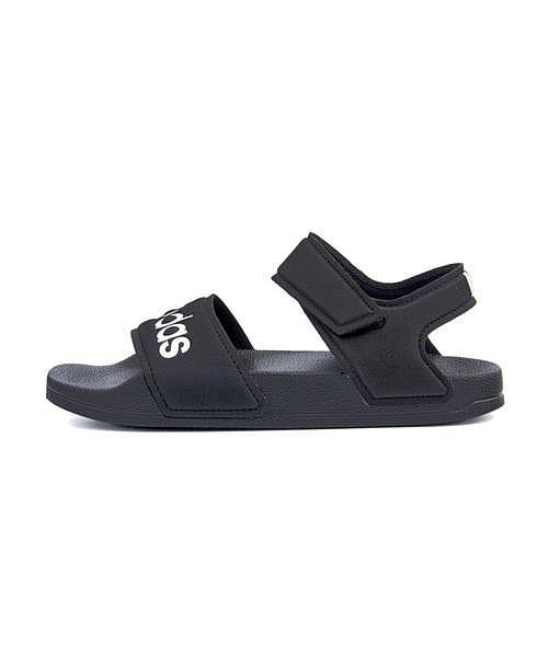 今が買い時 売り出し クリアランス アディダス adidas アディレッタサンダルK ADILETTE SANDAL K コアブラック フットウェアホワイト 女の子 売り出し キッズ スクール カジュアル 軽量 サンダル 学校 デイリー 運動靴 通学靴 クッション性 G26879 子供靴 スポーツ
