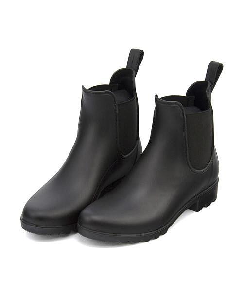 レインブーツ ショートブーツ ローヒール レディース 長靴 サイドゴア 防水 美脚 チャーキーズ CHARKIES 247001 ブラック 全品ポイント激増 超得クーポン割引 クッション性 ビジネス 歩きやすい デイリー 5☆好評 カジュアル 雨 トラベル アウトドア オフィス 新作 人気 靴 CHARKI 雪