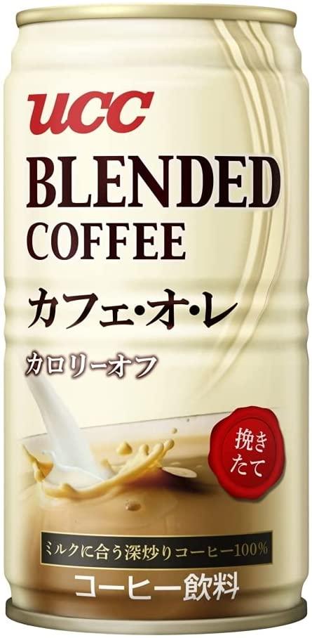 UCC ブレンドコーヒー カフェ オ レ カロリーオフ 185g 30本