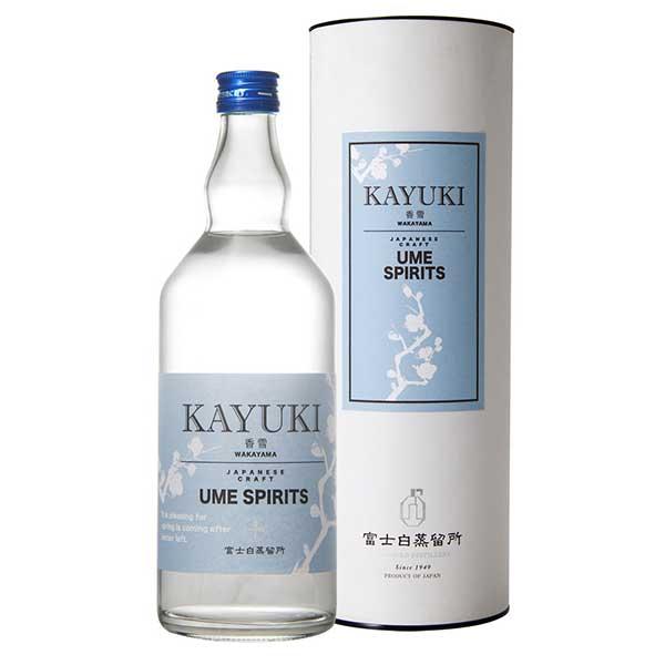 香雪 -KAYUKI- 45度(FK-43)[箱付] [瓶] 700ml x 6本[ケース販売][中野BC/ジン/日本/和歌山]