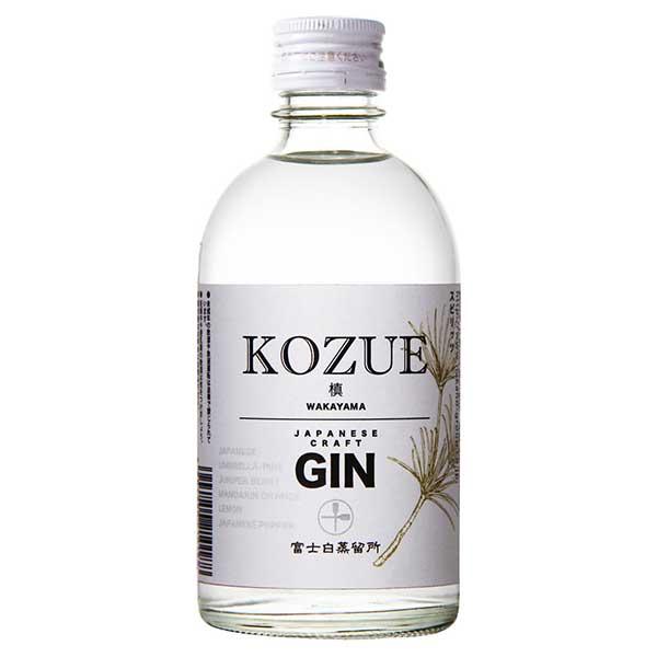 槙 -KOZUE- 47度 [瓶] 300ml x 12本[ケース販売][中野BC/ジン/日本/和歌山]