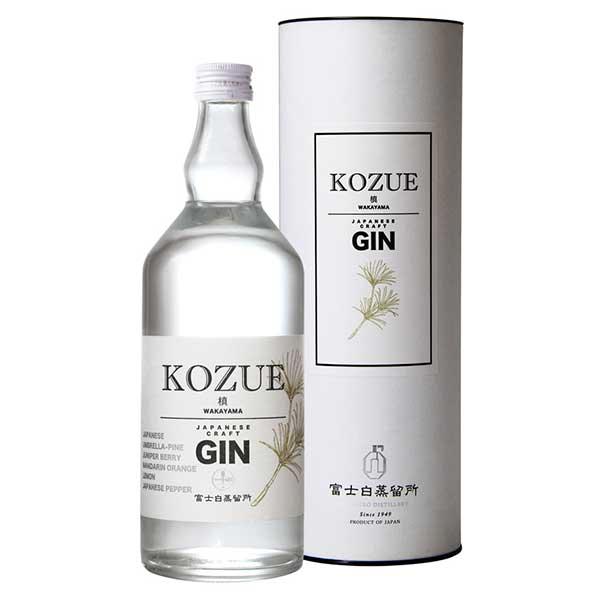 槙 -KOZUE- 47度(FK-35)[箱付] [瓶] 700ml x 6本[ケース販売][中野BC/ジン/日本/和歌山]