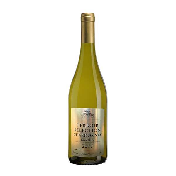白ワイン wine ジャンジャックドミニク テロワールセレクション 公式通販 シャルドネ 2018 750ml JAL 酒 敬老の日 サケ BWJJDB07 ペイドック フランス プレゼント ギフト 人気