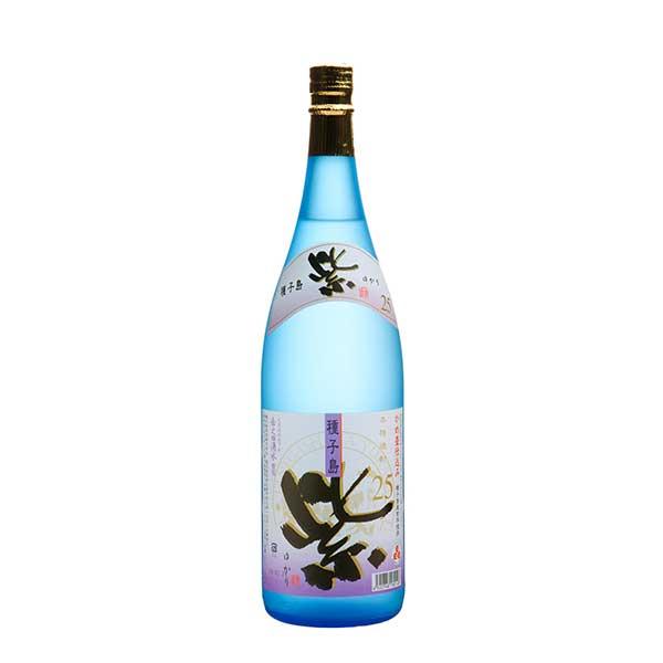 紫 大地のかがやき紫 芋 25度 [瓶] 1.8L 1800ml x 6本[ケース販売] [種子島酒造/芋焼酎/日本/鹿児島]【母の日】