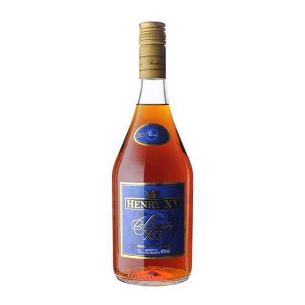 ブランデー Brandy 期間限定お試し価格 ヘンリー15世 ブランデーXO 瓶 37度 700ml TK 敬老の日 超激安特価 520220 プレゼント ギフト 酒 アメリカ サケ