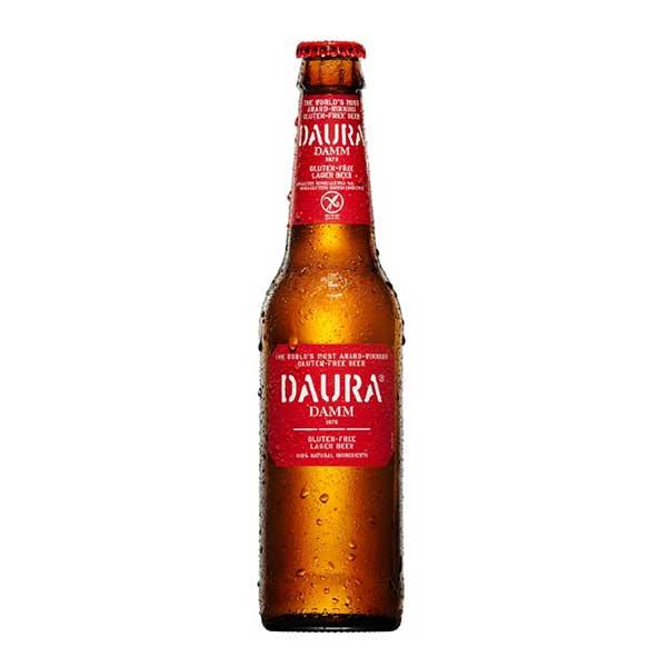 ダウラ グルテンフリー ラガービール [瓶] 330ml x 24本[ケース販売] 送料無料※(本州のみ) [TK/スペイン/輸入ビール/302305]