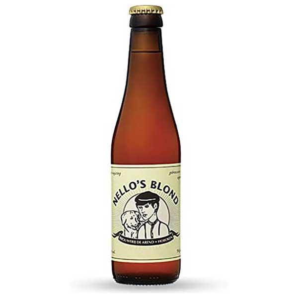 【限定割引クーポン配布中】ネロズ ブロンド [瓶] 330ml x 24本[ケース販売] [同梱不可][池光/ビール/ベルギー]