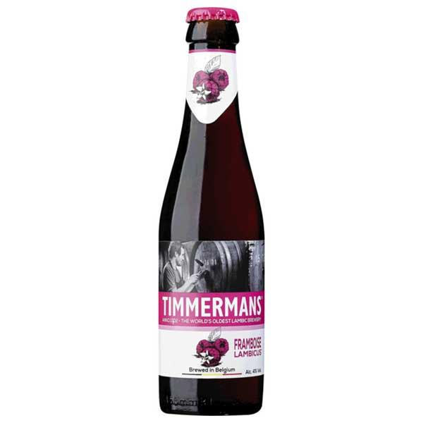 ティママン フランボアーズ [瓶] 250ml x 24本[ケース販売] [同梱不可][池光/ビール/発泡酒/ベルギー]