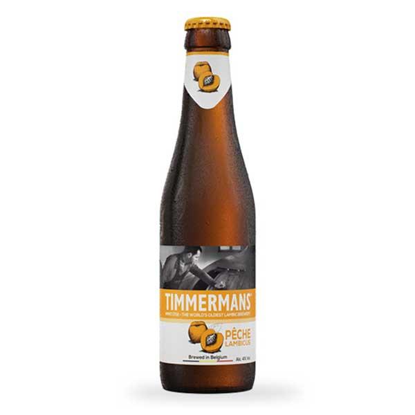ティママン ピーチ [瓶] 250ml x 24本[ケース販売] 送料無料※(本州のみ) [同梱不可][池光/ビール/発泡酒/ベルギー]