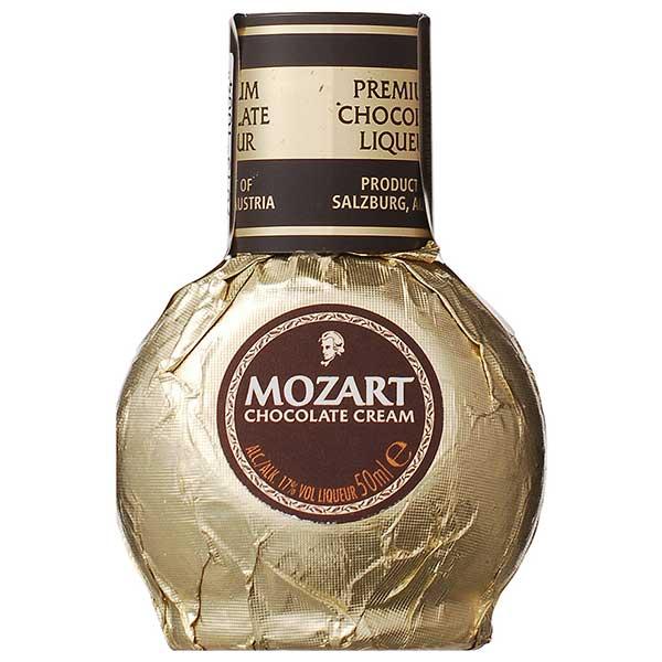サントリー モーツァルト チョコレートクリーム リキュール ミニチュア 17度 [瓶] 50ml x 120本[ケース販売][サントリー/オーストリア/リキュール/YMCLZB]