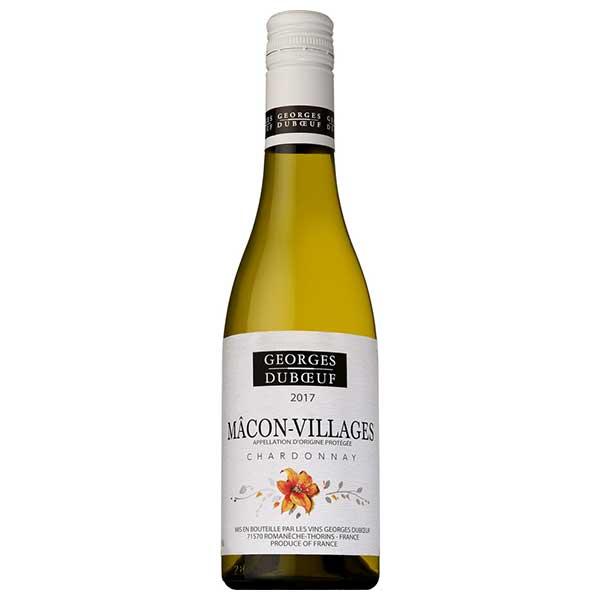 白ワイン wine 母の日 父の日 御中元 日本最大級の品揃え 御歳暮 内祝い ジョルジュ デュブッフ サントリー 375ml 瓶 マコン 送料無料 KMMV16 ヴィラージュ 出色 本州のみ フランス