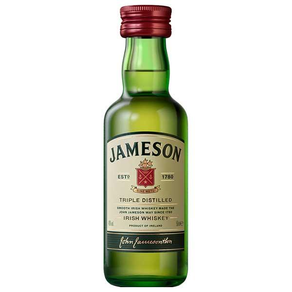 ジェムソン ミニ 40度 50ml x 192本[ケース販売][ペルノ/アイルランド/アイリッシュウイスキー]