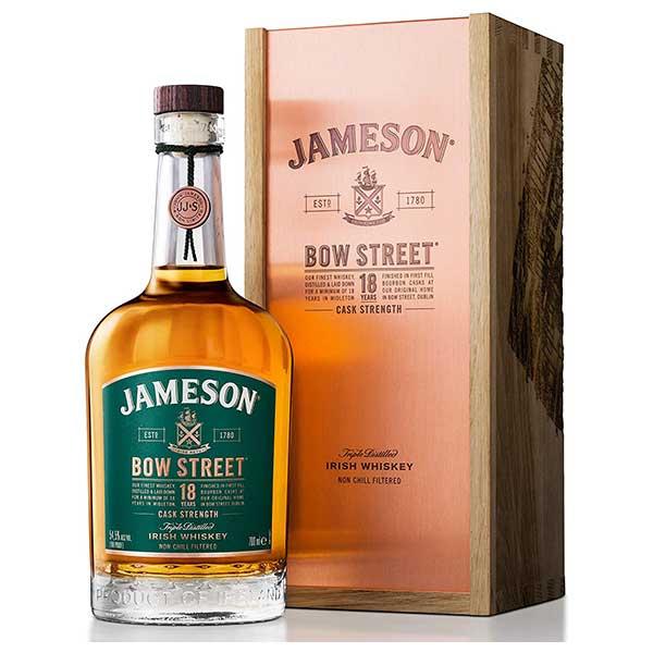 ジェムソン ボウ ストリート 18年 55度 700ml[ペルノ/アイルランド/アイリッシュウイスキー]