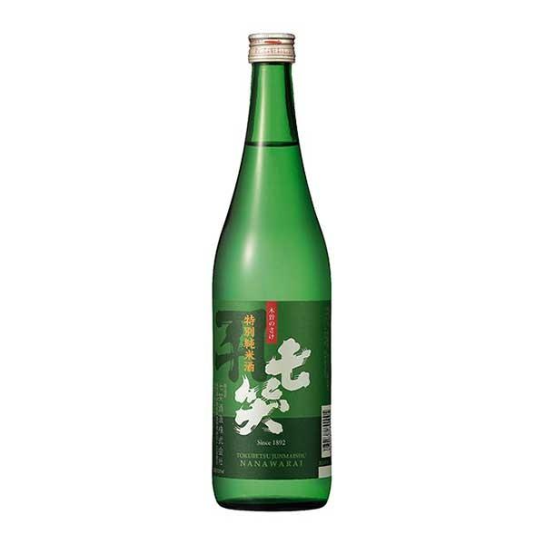 日本酒 japanese sake 母の日 父の日 御中元 御歳暮 内祝い x 720ml 即納最大半額 特別純米酒 七笑 国内即発送 12本 ケース販売 七笑酒造 長野県