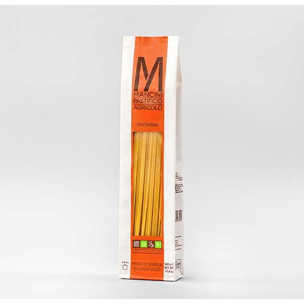 パスタ Pasta マンチーニ キタッラ 袋 新作送料無料 500g x ケース販売 イタリア モンテ 036200 12袋 最新