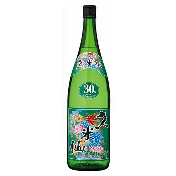 久米仙酒造 グリーン 30度 1.8L 1800ml x 6本 [ケース販売][久米仙酒造 / 泡盛]