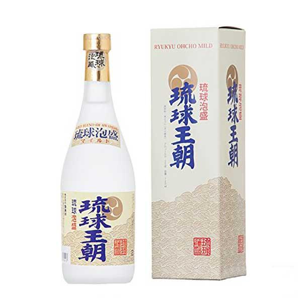 琉球王朝 古酒 マイルド 25度 720ml x 12本 [ケース販売][多良川 / 泡盛]
