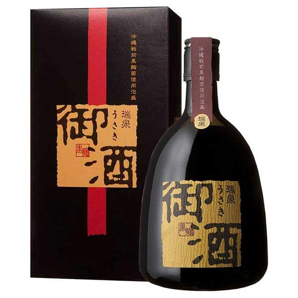 瑞泉 御酒(ウサキ) 30度 720ml x 6本 [ケース販売][瑞泉酒造 / 泡盛]
