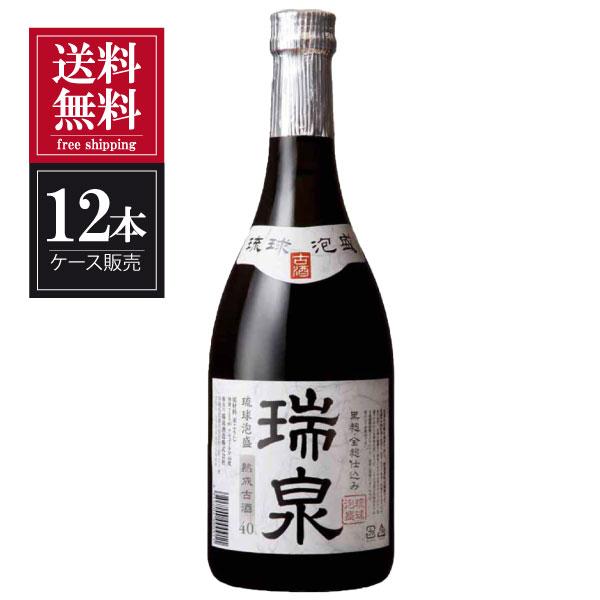 【送料無料】瑞泉 熟成 古酒 40度 720ml x 12本 [ケース販売][瑞泉酒造 / 泡盛] 送料無料※(本州のみ)【母の日】