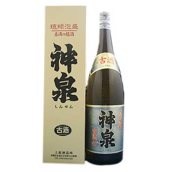 上原 神泉 古酒 43度 1.8L 1800ml x 6本 [ケース販売][上原酒造所 / 泡盛]【母の日】