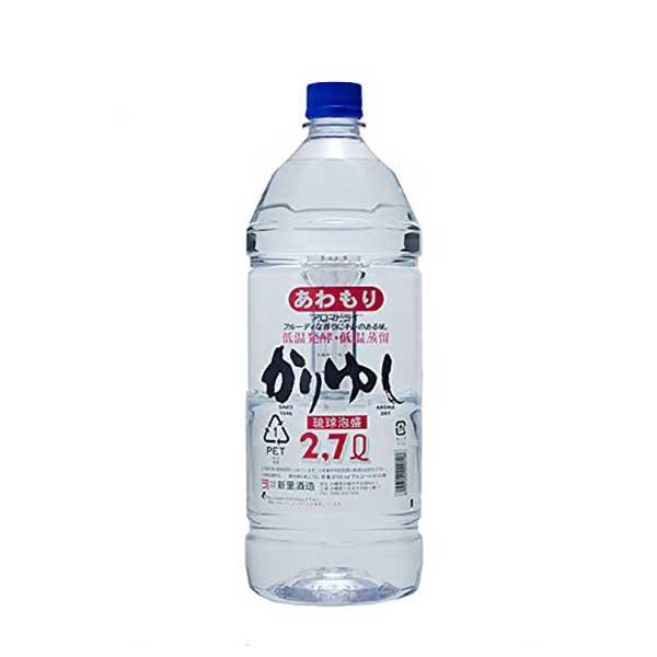 新里 アロマドライ ペット 25度 2.7L 2700ml x 6本 [ケース販売][ 新里酒造 / 泡盛]