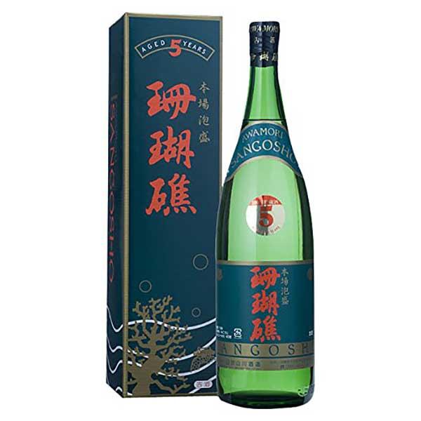 山川 珊瑚礁 5年 古酒 43度 1.8L 1800ml x 6本 [ケース販売][山川酒造 / 泡盛]