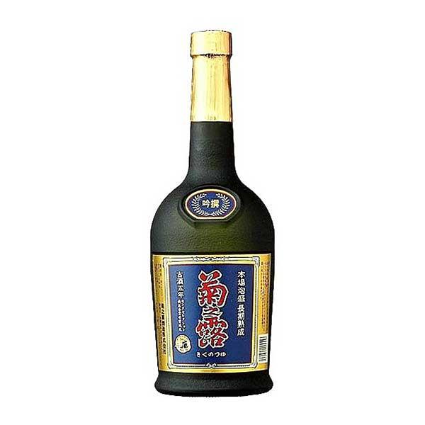 菊之露 ブラック 古酒 40度 720ml x 12本 [ケース販売][菊之露酒造 / 泡盛] 送料無料※(北海道・四国・九州・沖縄別途送料)