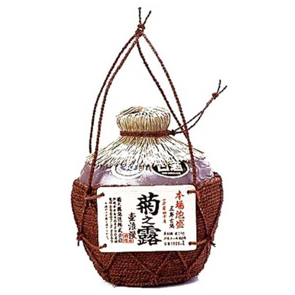 菊之露 一升壷 40度 1.8L 1800ml x 6本 [ケース販売][菊之露酒造 泡盛] 送料無料(本州のみ)