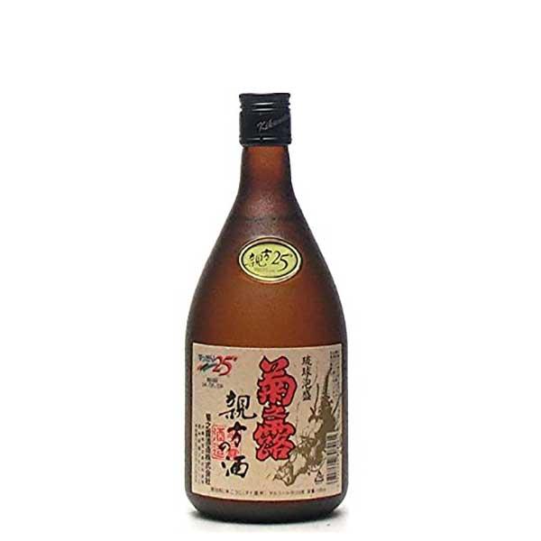 菊之露 親方の酒 25度 720ml x 12本 [ケース販売][菊之露酒造 / 泡盛]【母の日】