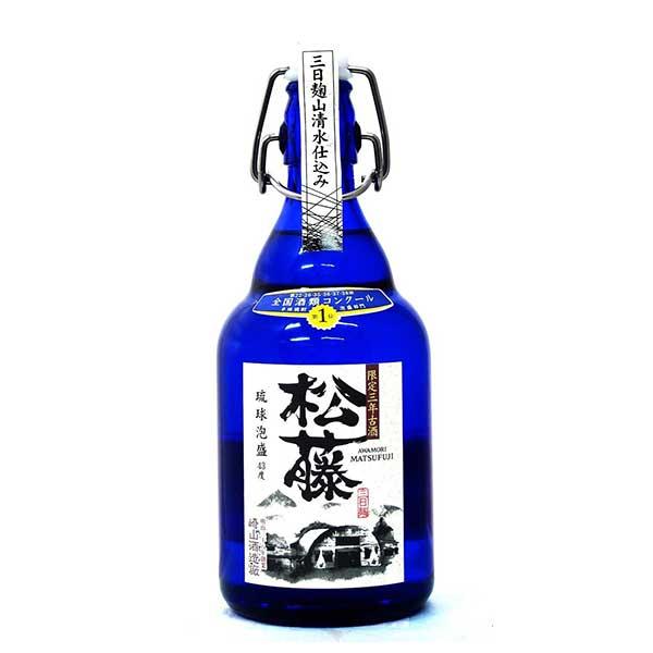 崎山 松藤限定 古酒 43度 500ml x 12本 [ケース販売][崎山酒造廠 / 泡盛]【母の日】