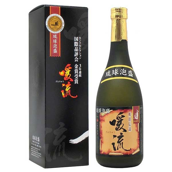 神村 暖流琥珀伝説 古酒 30度 720ml x 12本 [ケース販売][神村酒造 / 泡盛]