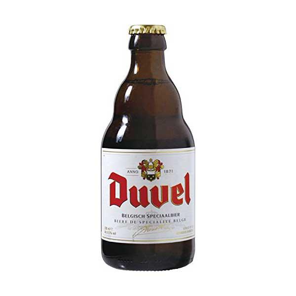 デュベル 330ml x 24本 [瓶][ケース販売][同梱不可]