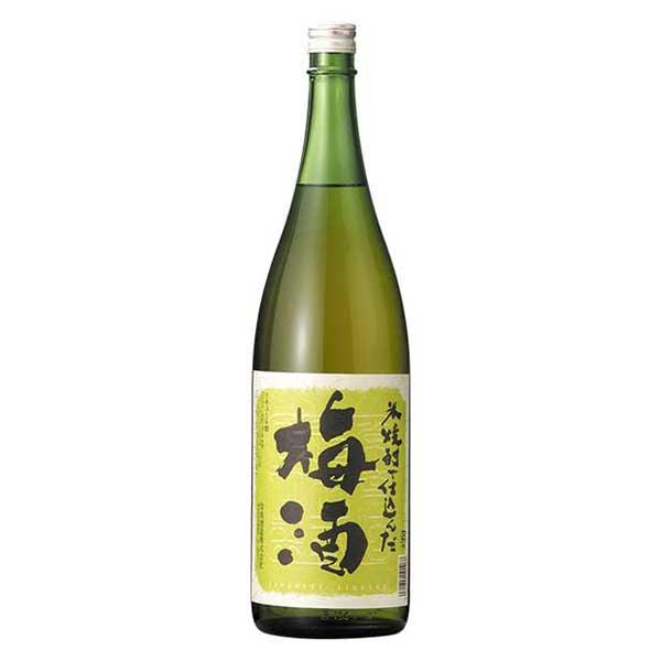 常楽 米焼酎で仕込んだ梅酒 1.8L 1800ml x 6本[ケース販売][岡永/松下醸造/熊本県]【母の日】